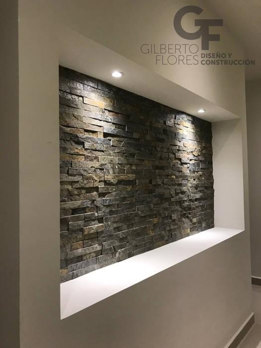 Moderne Wände & Böden von GF ARQUITECTOS Modern Stein