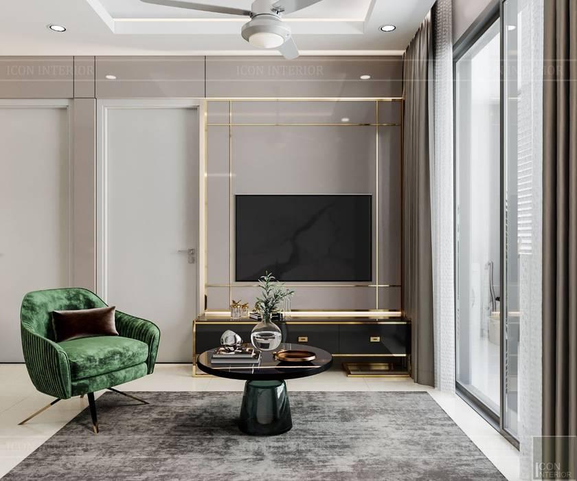 Thiết kế nội thất căn hộ SAIGONMIA - Khoảng trời của riêng tôi bởi ICON INTERIOR Hiện đại