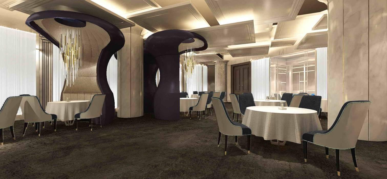 Gastronomie minimaliste par 亚卡默设计 Akuma Design Minimaliste Bois composite