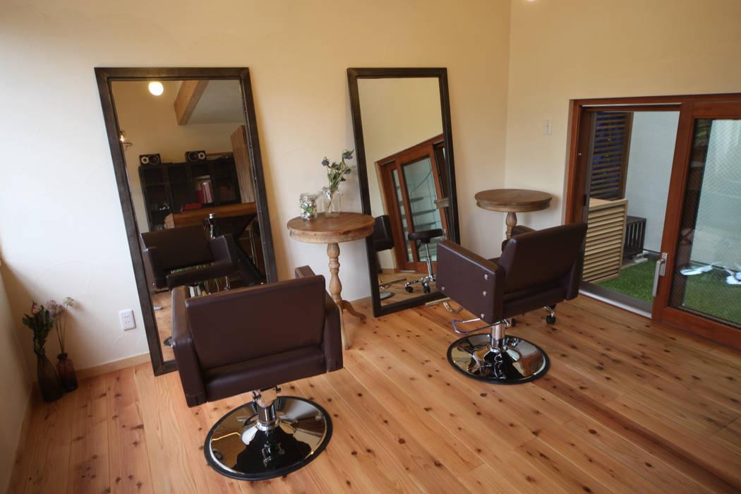 美容室 北欧スタイルの 寝室 の 株式会社高野設計工房 北欧