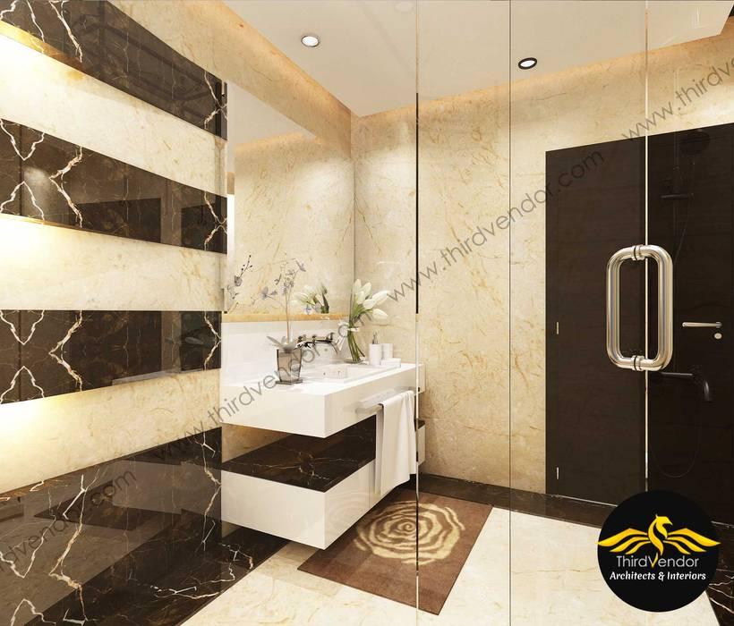 Toilet Modern bathroom by ThirdVendor - Architects & Interiors Modern Tiles