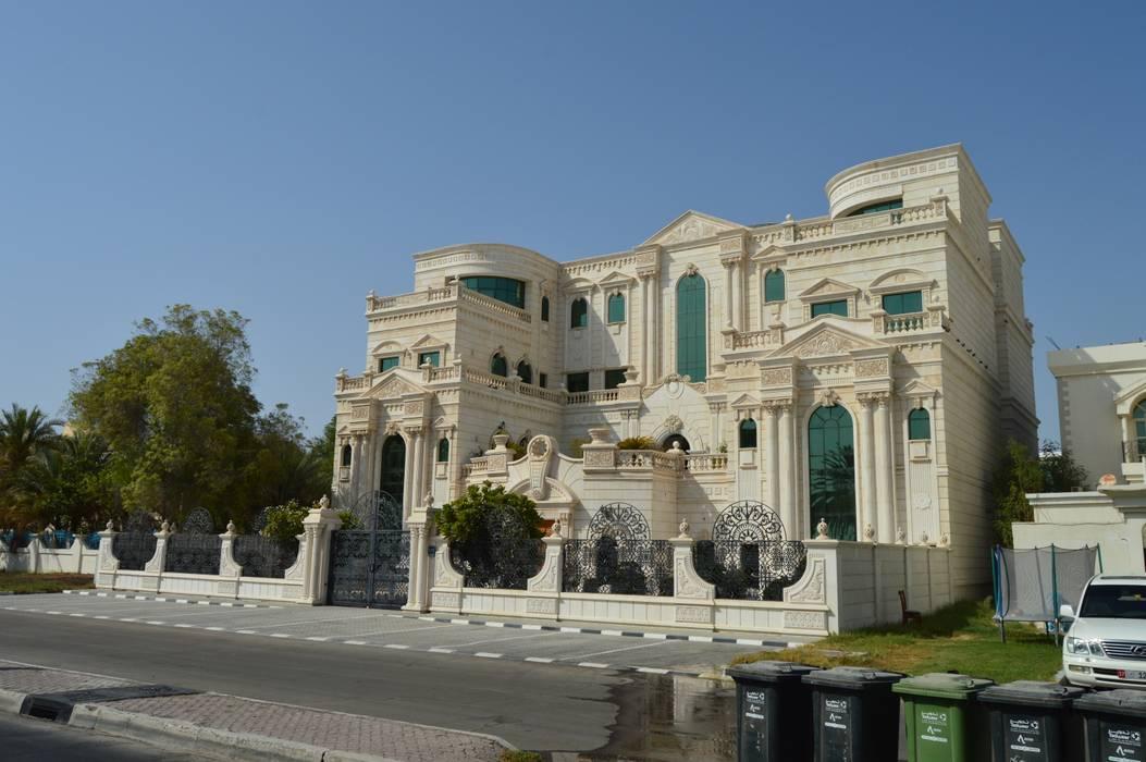 قصر الفلاحي في دولة الامارات العربية tatari company فيلا حجر White