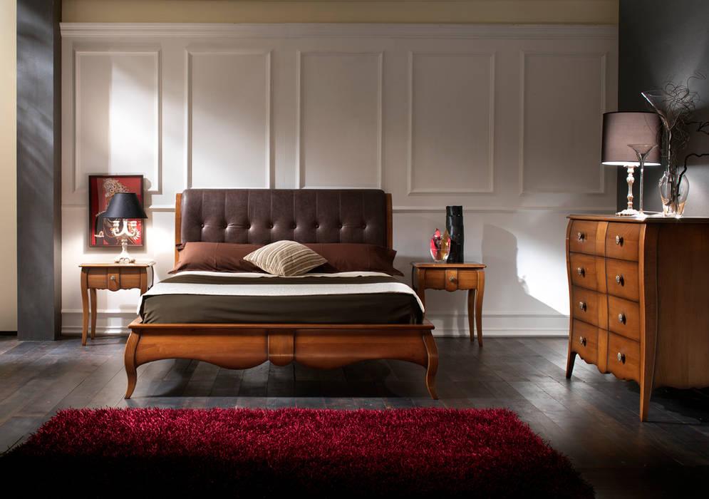 Camera da letto di mobilificio rbr ebanisteria classico ...