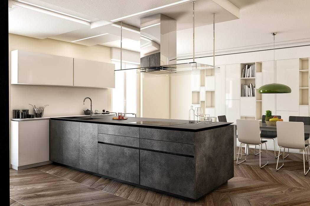 Кухня в стиле модерн от Edificaciones Arcon Модерн