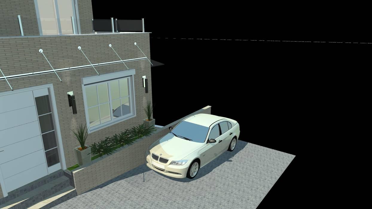 Vista próximo a Marina!! Casas modernas por homify Moderno Azulejo