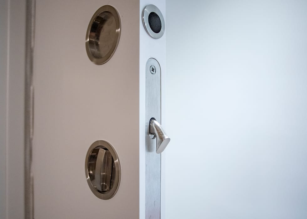 Modern style doors by Grupo Inventia Modern Wood-Plastic Composite