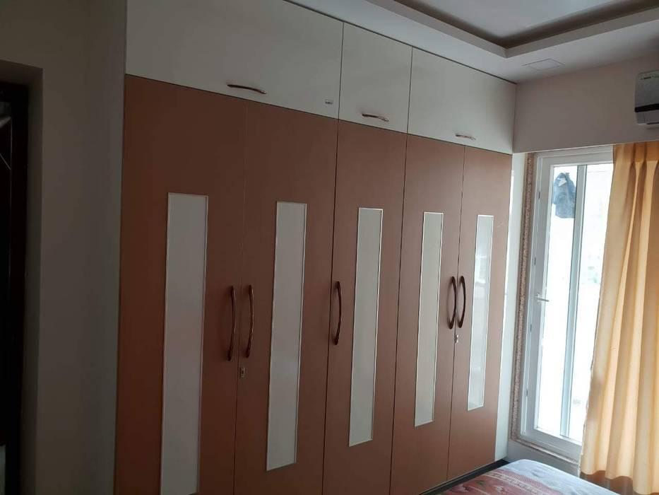 Bandana Thane Modern style bedroom by Clickhomz Modern