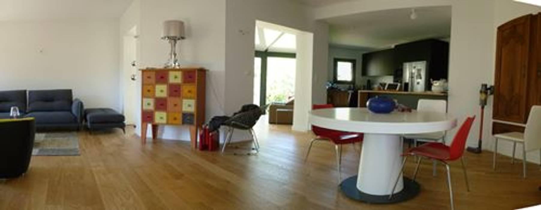 Séjour après travaux salon moderne par farache claude ...