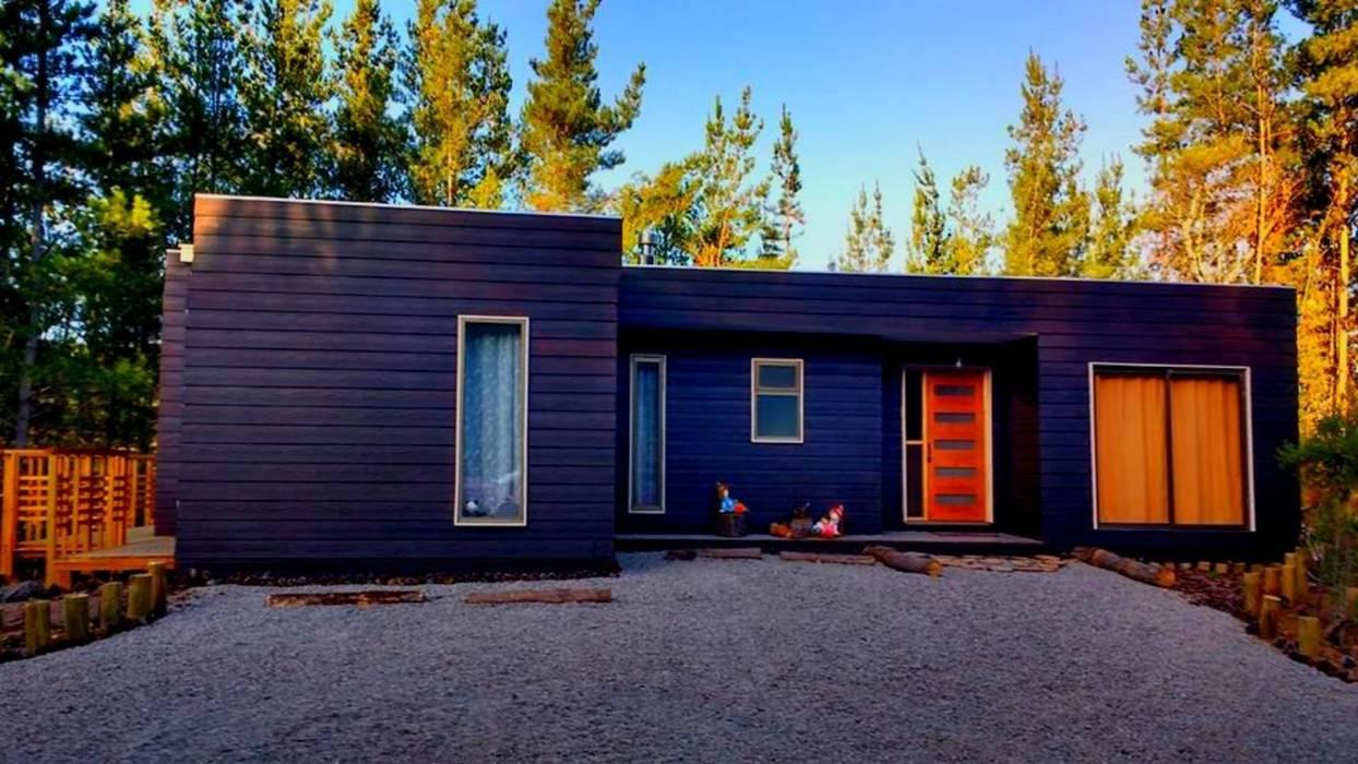Casa Quinta Tunquen Casas de estilo mediterráneo de Montgreen Ecomodular Mediterráneo