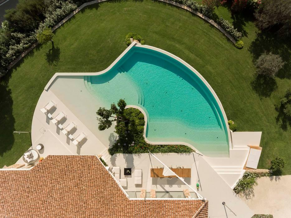 Villa G Piscina minimalista di GAAP studio associati Minimalista