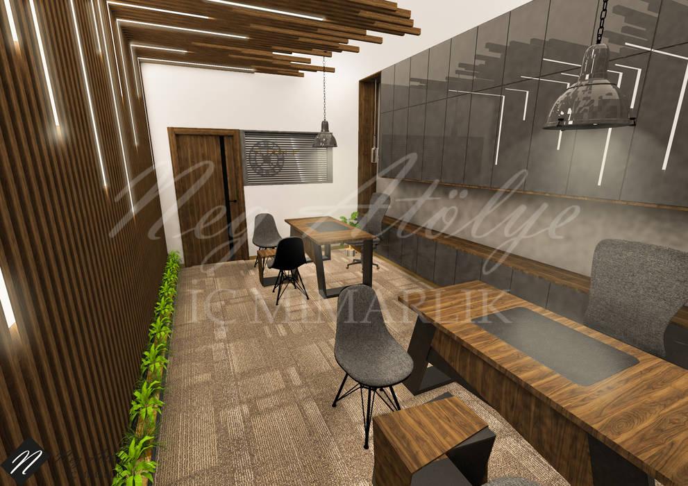 Kuyumcu Ofis Tasarımı NEG ATÖLYE İÇ MİMARLIK