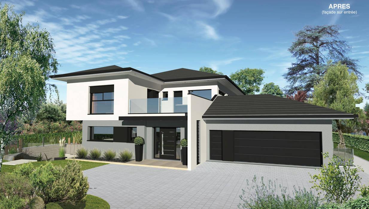 ENTREE état projeté Maisons modernes par MIAMI DESIGN / ERIC TOURAILLE CREATIONS Moderne