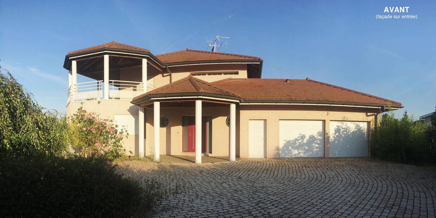 ENTREE avant travaux Maisons modernes par MIAMI DESIGN / ERIC TOURAILLE CREATIONS Moderne