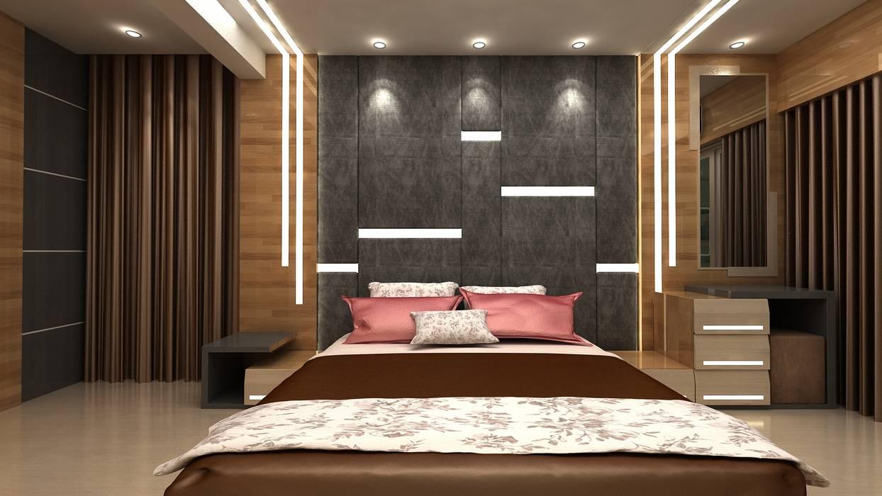 Dormitorios modernos de Clickhomz Moderno
