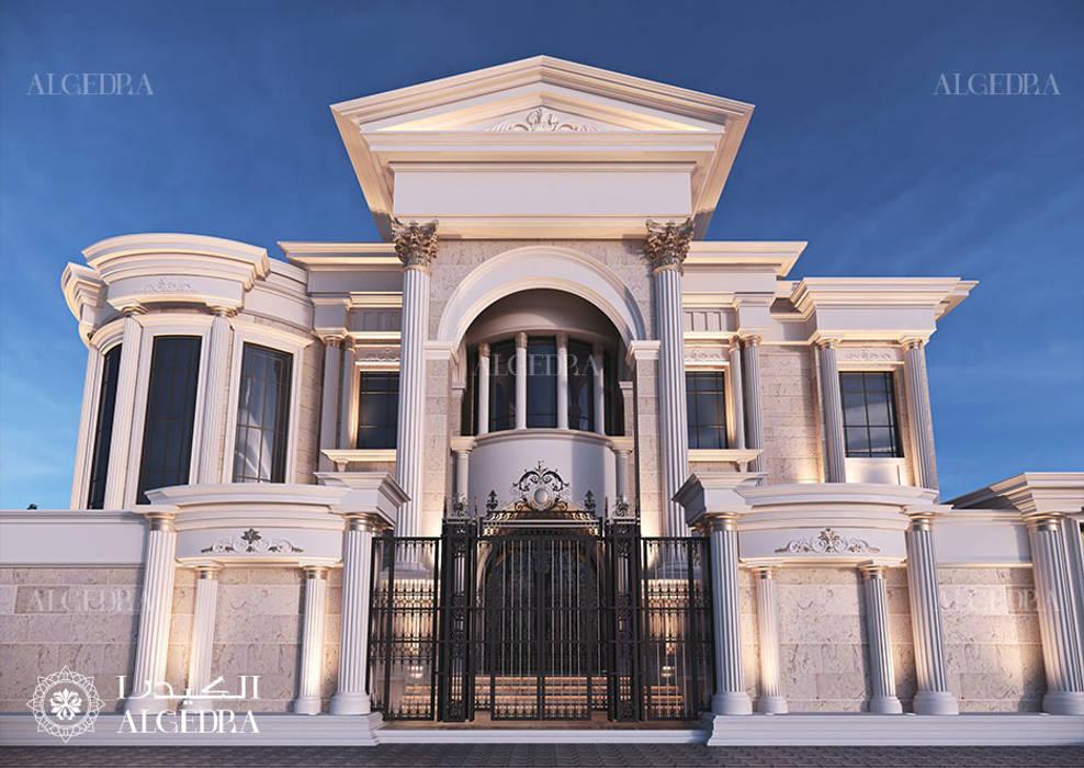 Palace Exterior Boundary Wall Design by Algedra Interior Design Classic