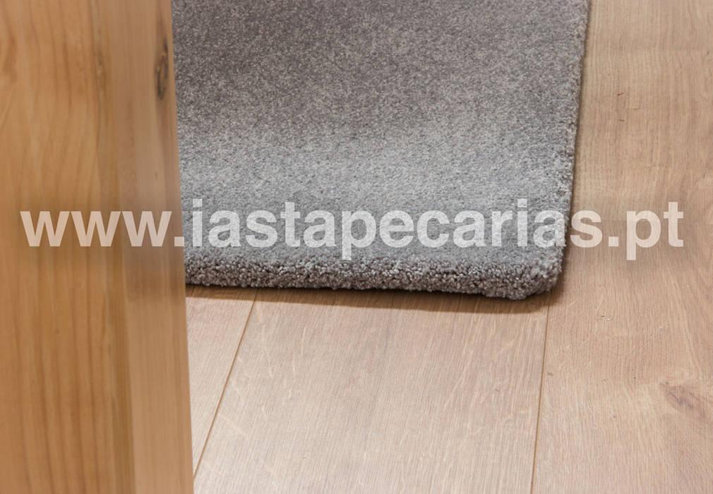 Carpete para Sala de Estar e de Jantar por IAS Tapeçarias Moderno Têxtil Ambar/dourado