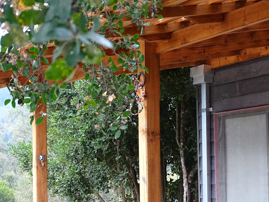 Refugio Linares de Montgreen Ecomodular Minimalista