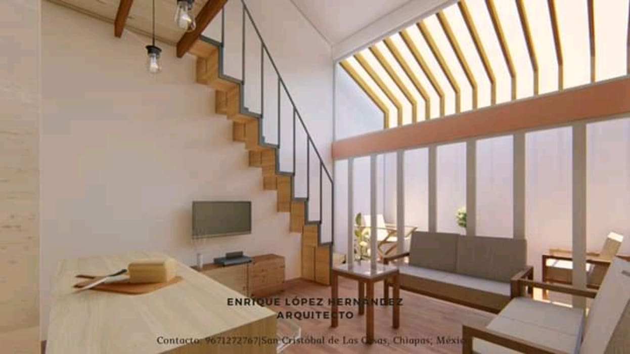 by ELH Studio Arquitectura Minimalist Iron/Steel