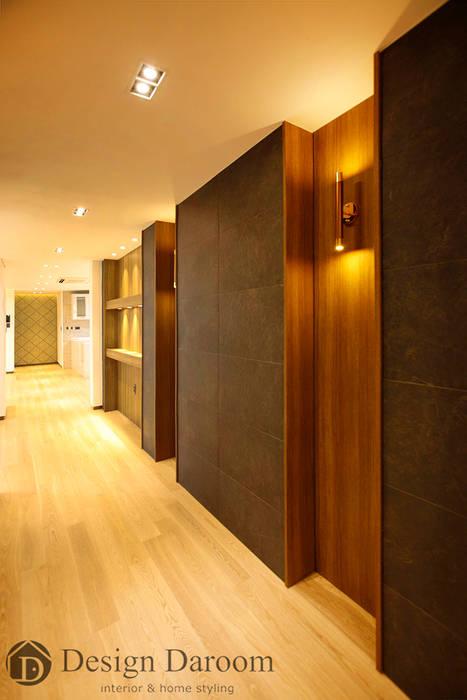 김포 전원주택 78py 1층 복도 Design Daroom 디자인다룸 모던스타일 복도, 현관 & 계단