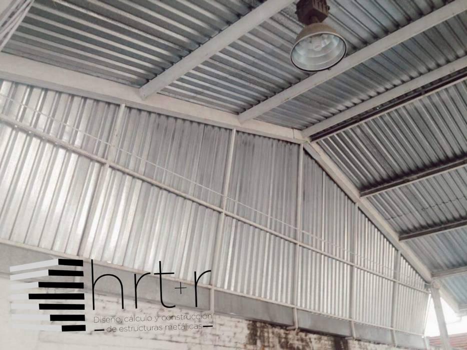 VERIFICENTRO CUERNAVACA MORELOS de Hrt+r diseño calculo y construccion de estructuras metalicas Industrial Hierro/Acero