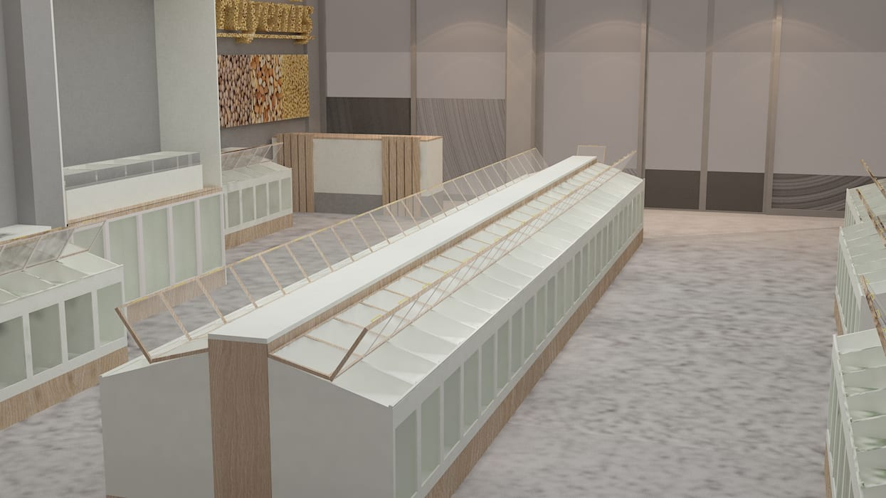 par Beykent iç mimarlık Moderne Bois composite