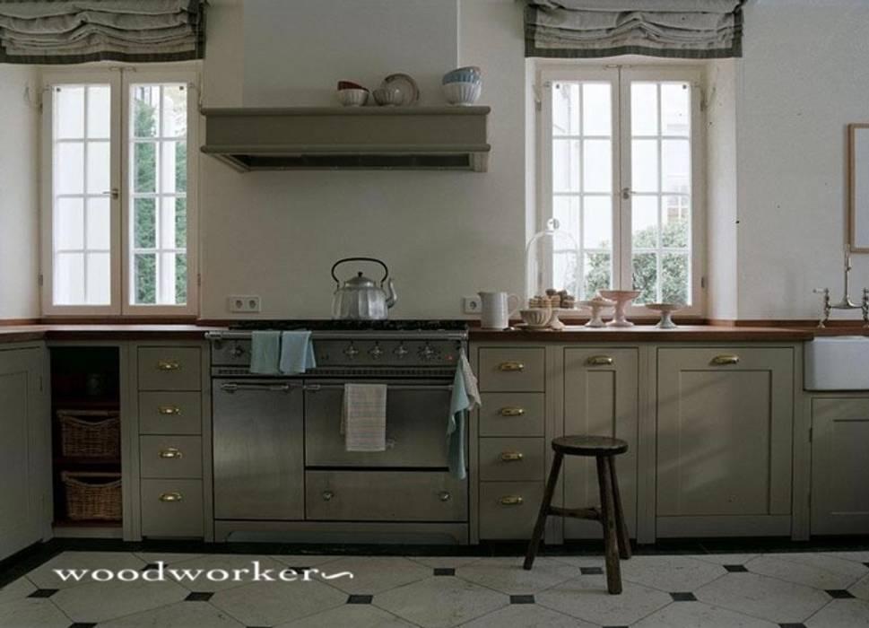 Woodworker GmbH &Co. KG Unit dapur Kayu Brown