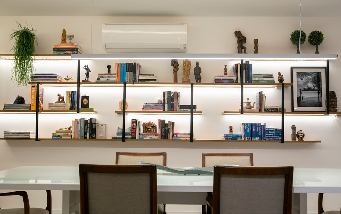 Modern Dining Room by C2HA Arquitetos Modern