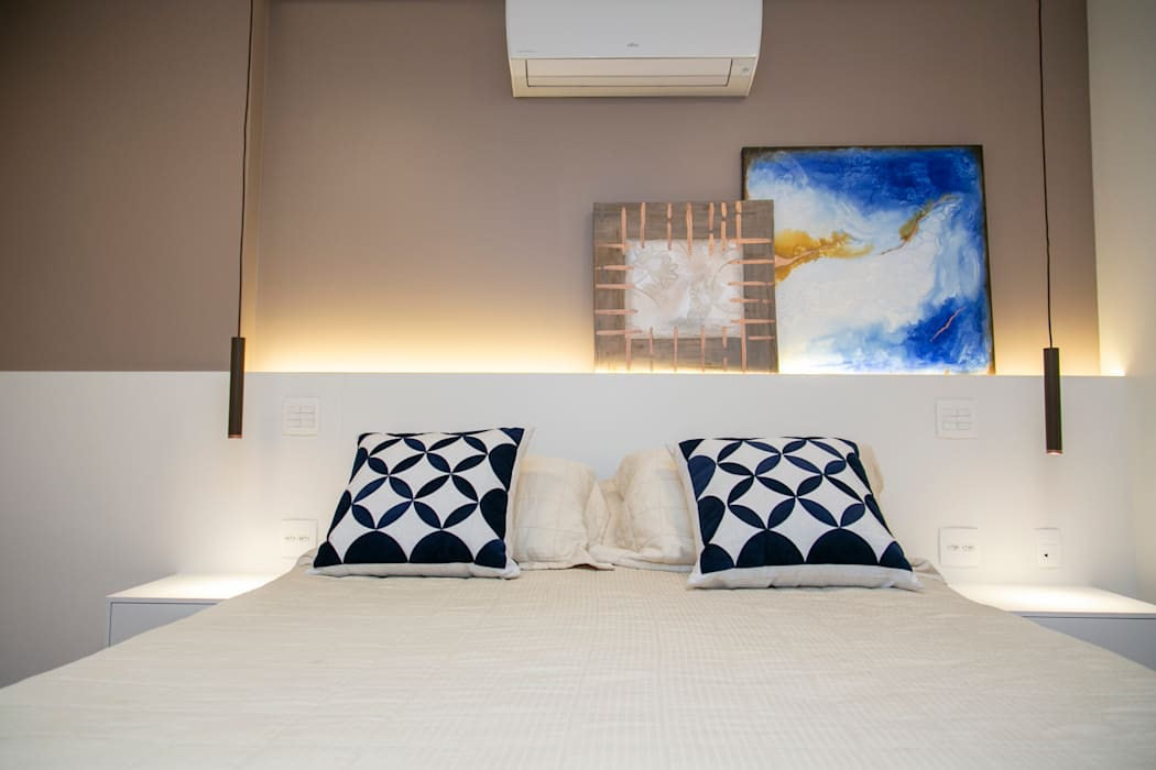 Modern Bedroom by C2HA Arquitetos Modern