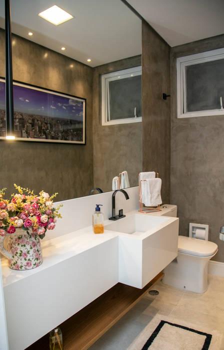 Lavabo urbano Banheiros modernos por C2HA Arquitetos Moderno