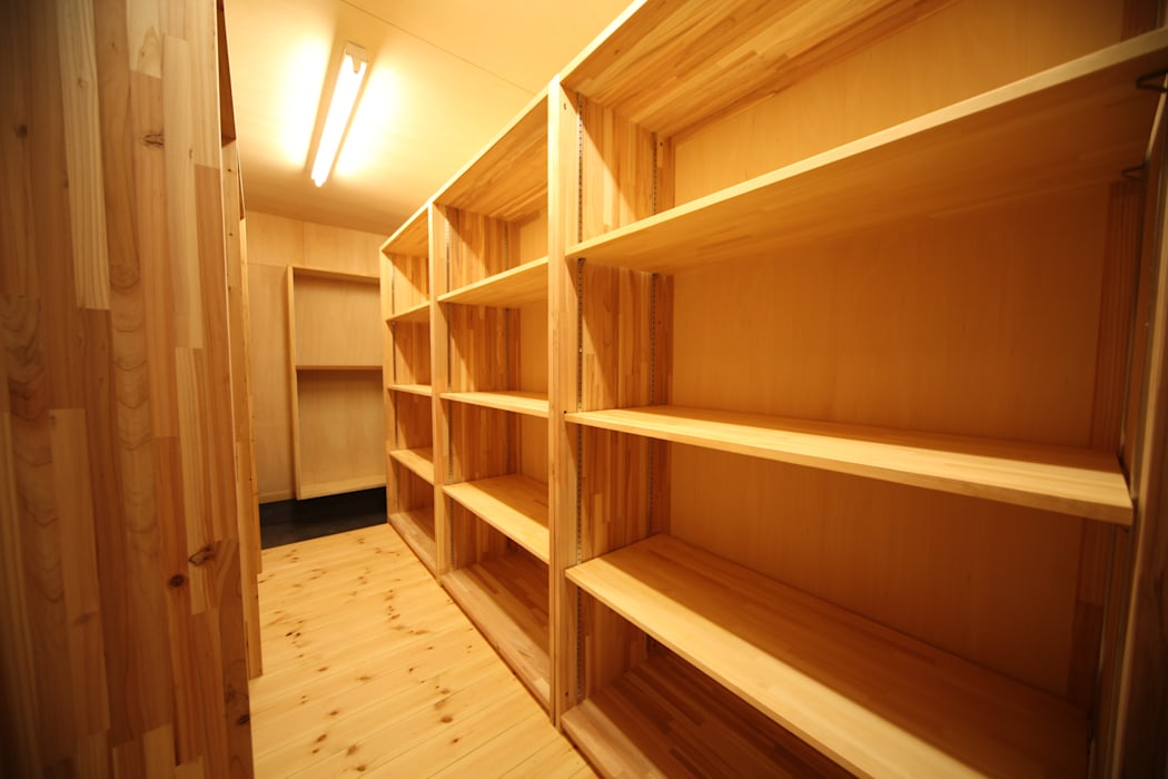 株式会社高野設計工房 Scandinavian style dressing room