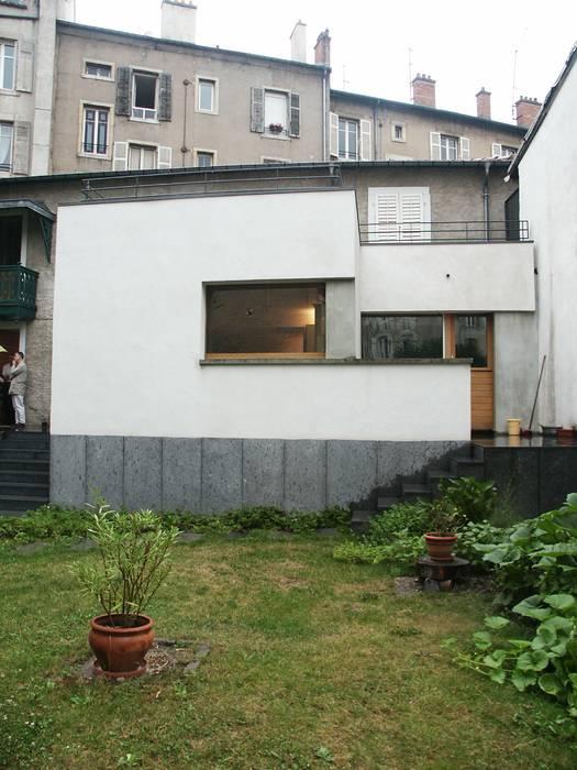 EXTENSION MAISON L Atelier Presle Jardin avant