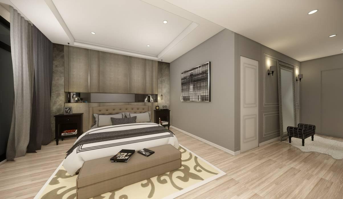 Klassische Schlafzimmer von 台灣柏林室內設計 Klassisch