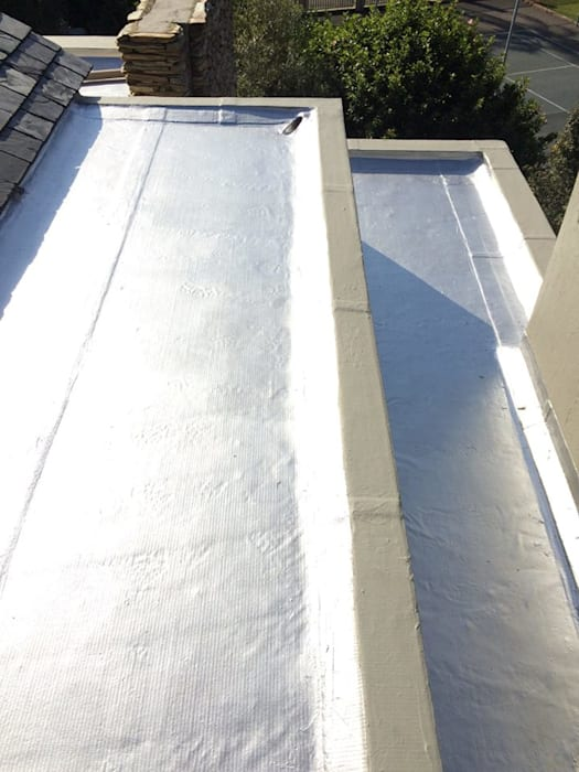 Torch-On Waterproofing On A Flat Concrete Slab by Speciality Waterproof & Roof Classic Concrete