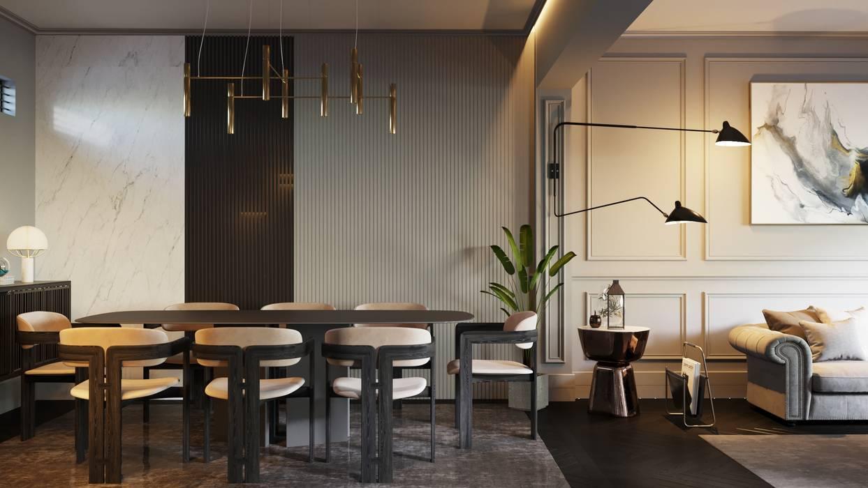 Moderne Wohnzimmer von homify Modern Holz Holznachbildung