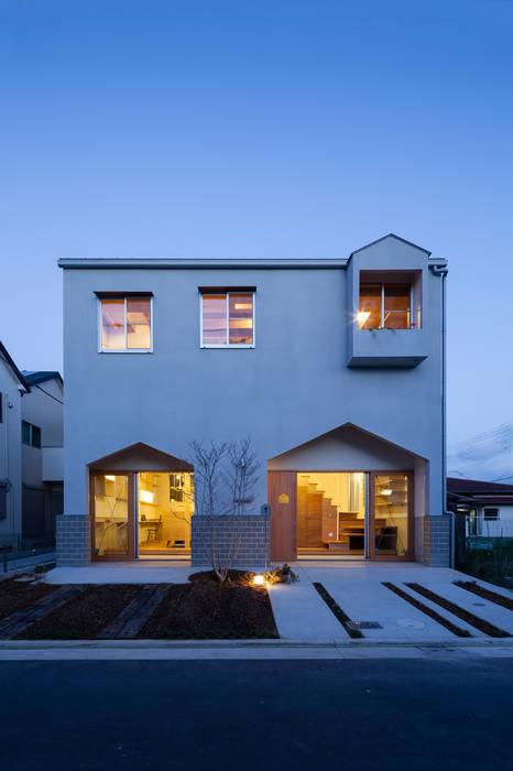 MORI 北欧風 家 の FUMIASO ARCHITECT & ASSOCIATES/ 阿曽芙実建築設計事務所 北欧