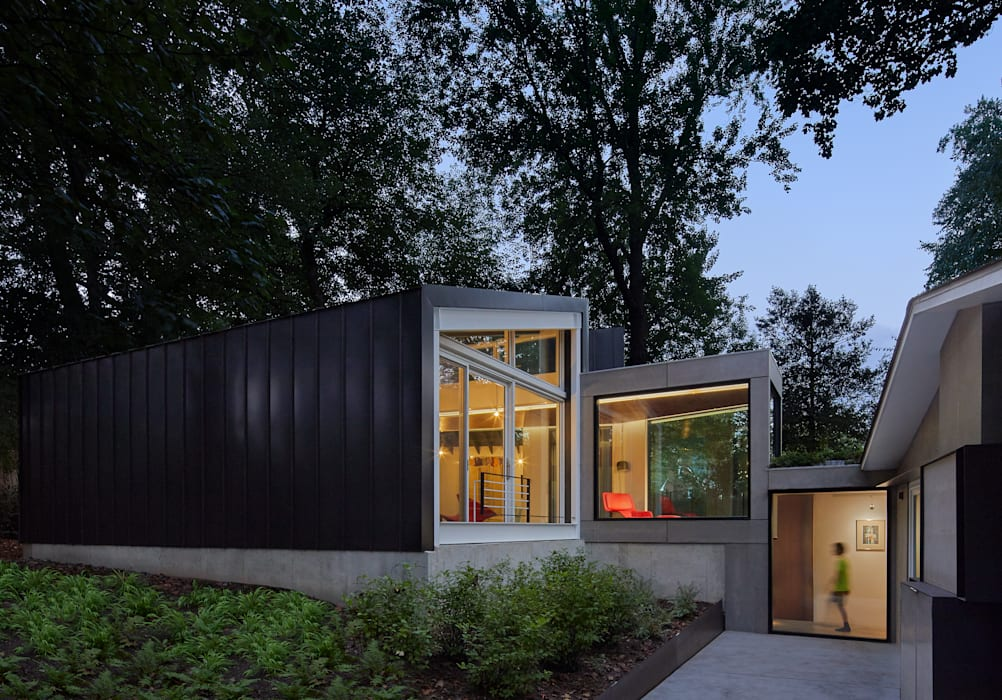 Casas modernas de KUBE Architecture Moderno