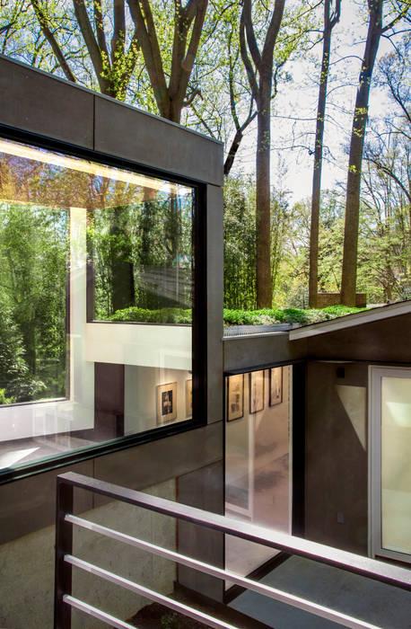 Dual Modern KUBE architecture Modern Terrace