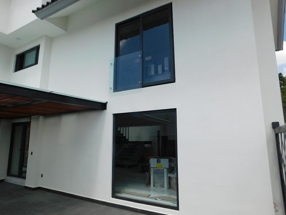 Pintu & Jendela Modern Oleh dBLuM°C Project Management Modern Kaca
