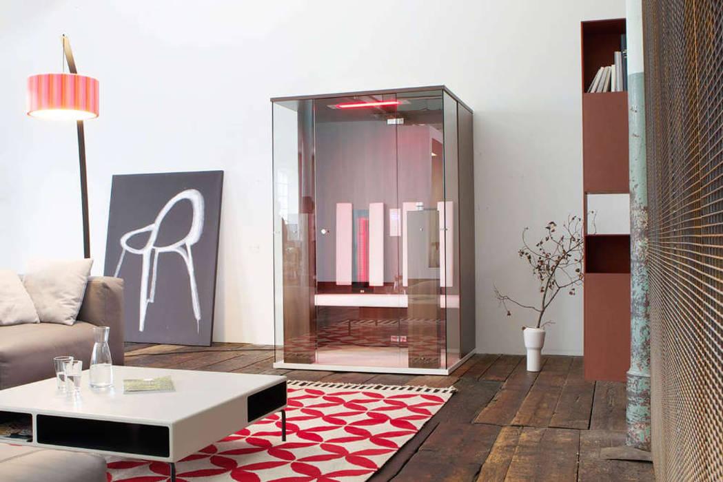 Infrarotkabine im Wohnzimmer? Minimalistische Wohnzimmer von SPA Deluxe GmbH - Whirlpools in Senden Minimalistisch