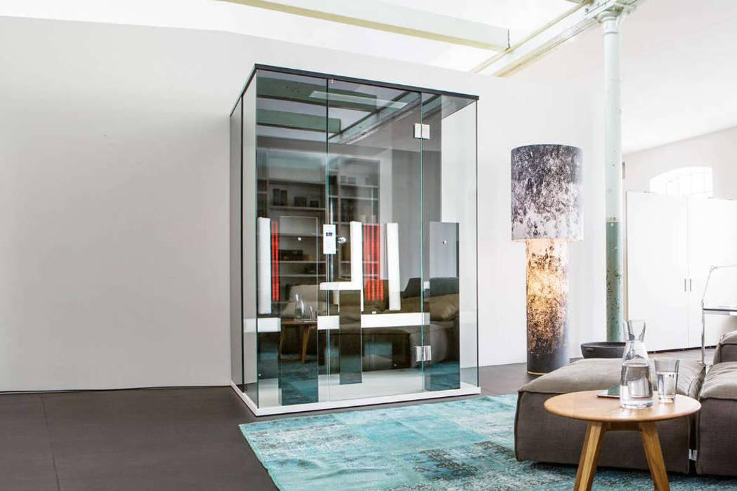 Design Infrarotkabine Minimalistische Wohnzimmer von SPA Deluxe GmbH - Whirlpools in Senden Minimalistisch