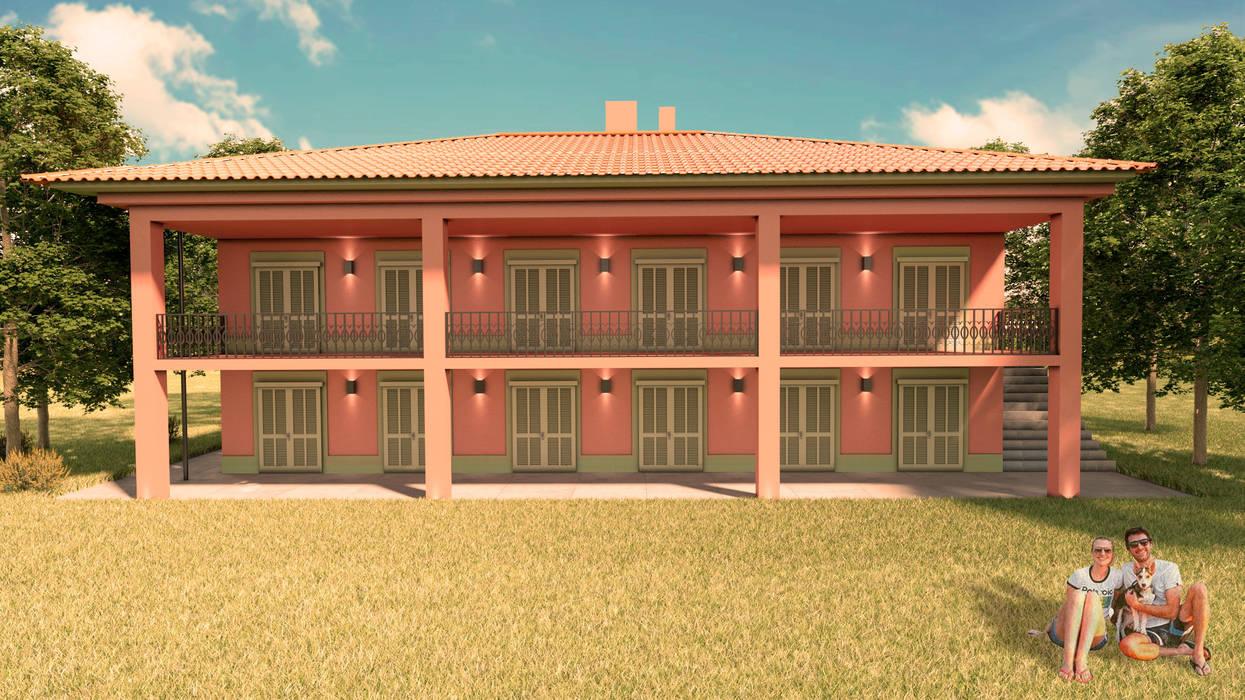 Casas de estilo mediterráneo de Elaine Hormann Architecture Mediterráneo