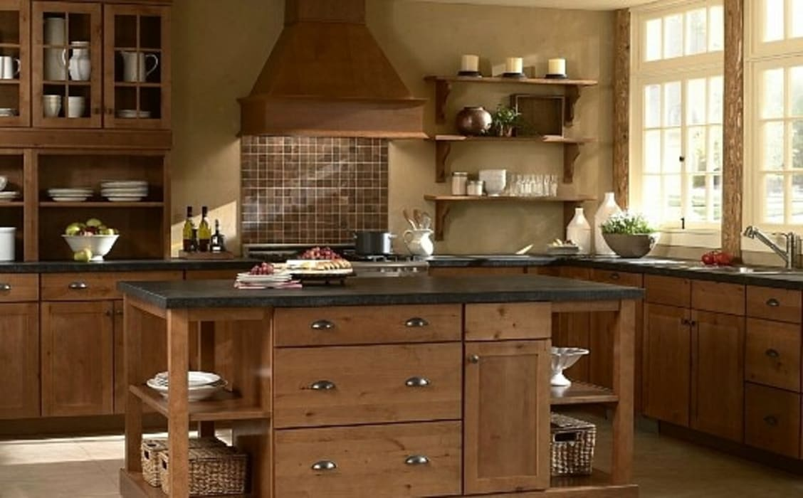 by ADAM AND EVE innovations Modern Solid Wood Multicolored