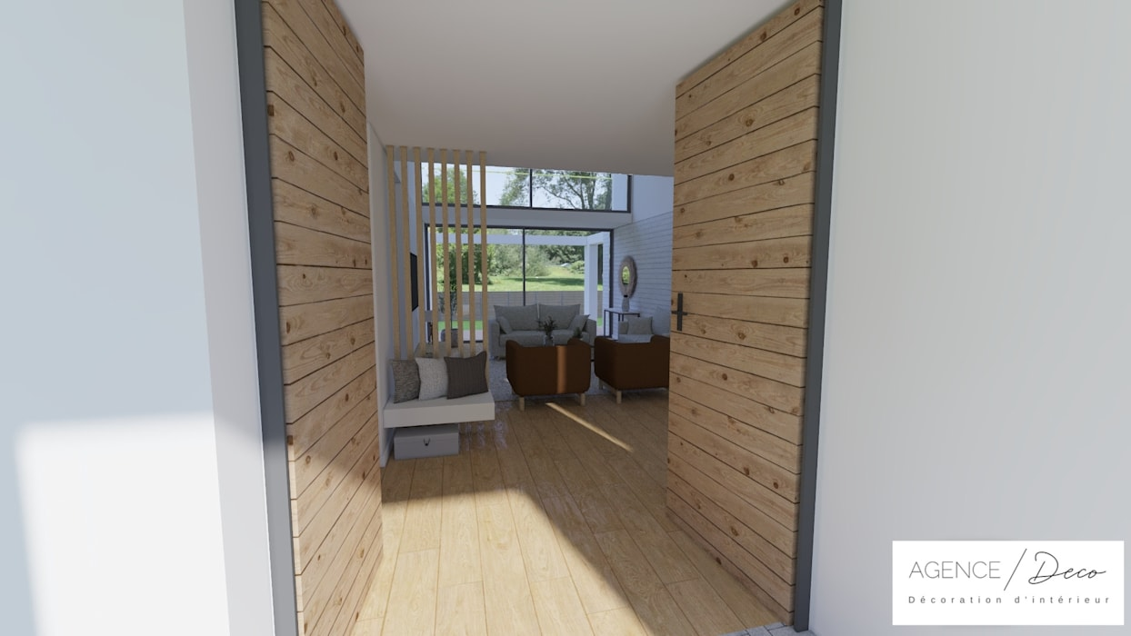 Déco D Entrée Maison etude complète avant achat - maisons 217m2 couloir, entrée