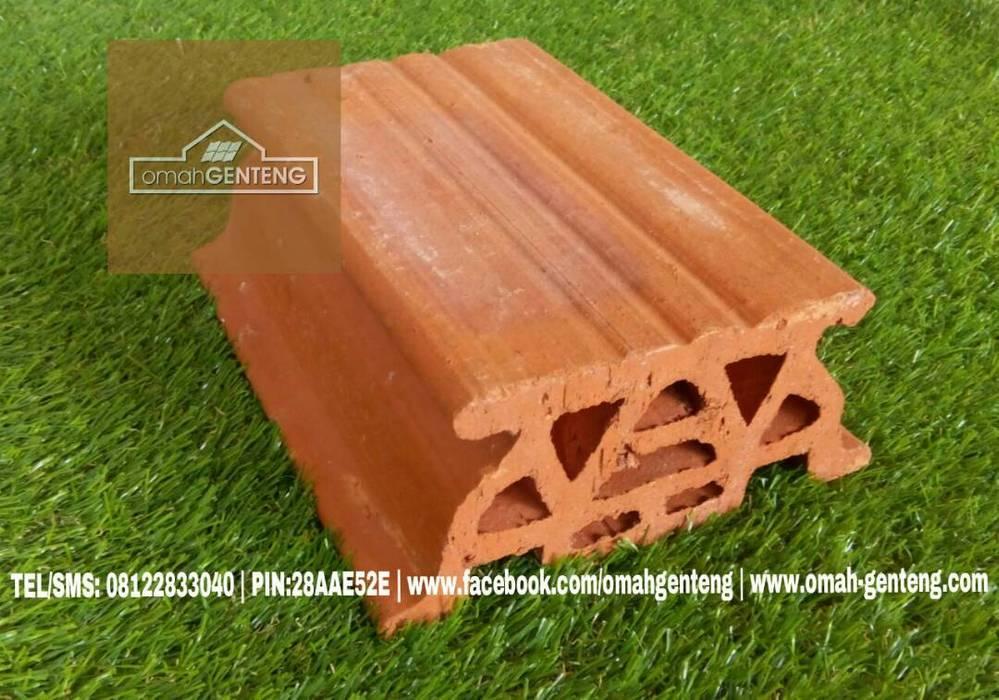 Dak Keraton Ceiling Brick - HP/WA: 08122833040 - Omah Genteng Oleh Omah Genteng Rustic Batu Bata