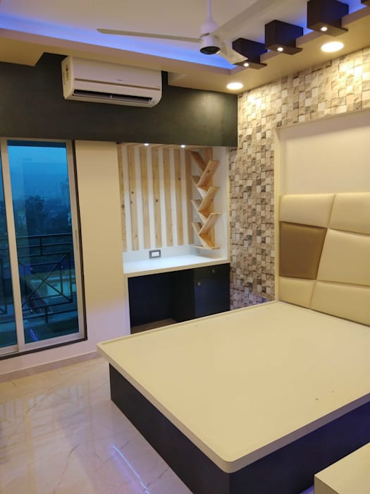 Bedroom for Teenager by VR Interior Designerss Asian Plywood