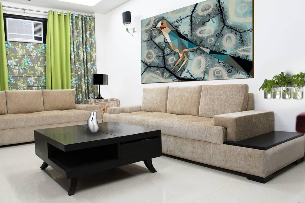 Residence Modern living room by PlanHomes Modern