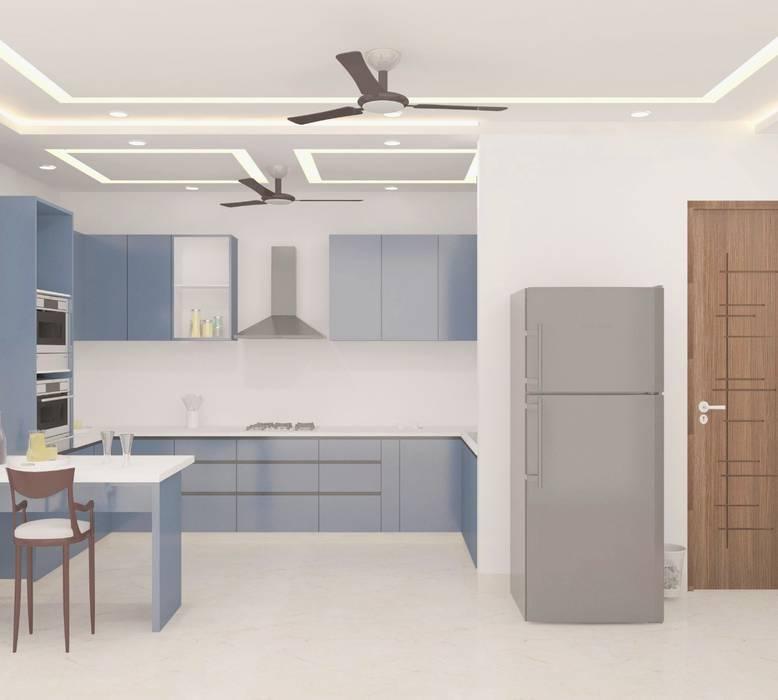 KITCHEN REVISED by JB DESIGN Modern Engineered Wood Transparent