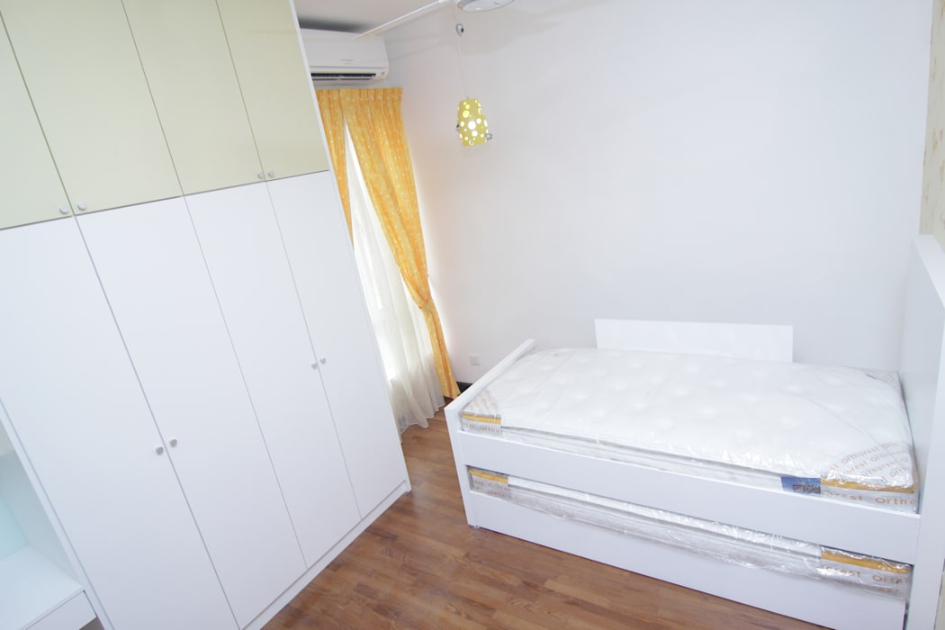INTERIOR DESIGN FIT-OUT WORKS AT SETIA ECO PARK, SETIA ALAM, SELANGOR eL precio Asian style bedroom