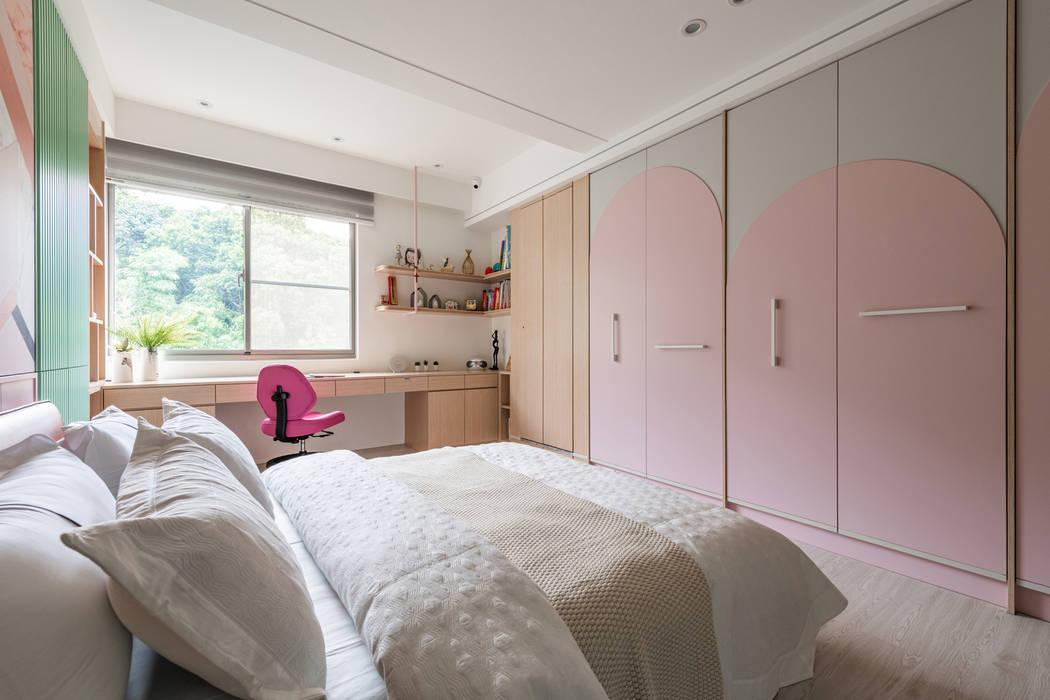 女兒房 你你空間設計 Girls Bedroom Pink
