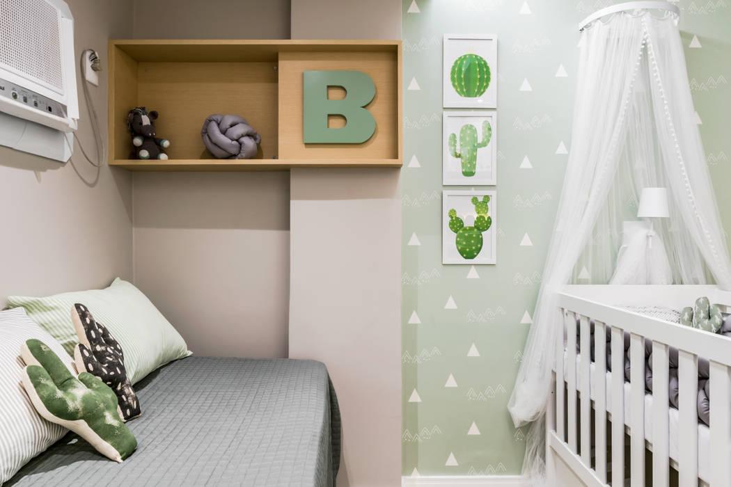Quarto de Bebê - C F por Bience Arquitetura Moderno